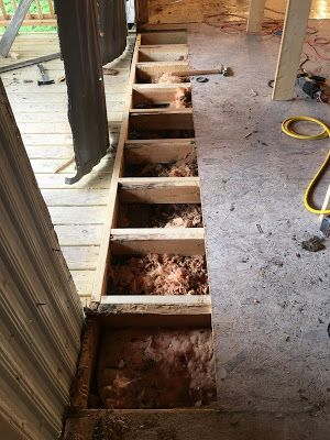 Mobile Home Frame and Subfloor repair                                                                                                                                                     More
