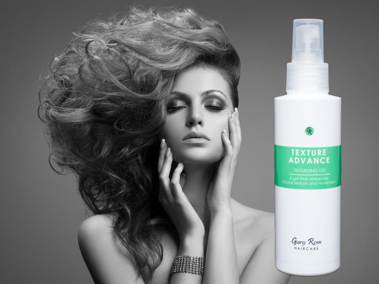 TEXTURE ADVANCE a gel that enhances the natural texture and movement of your hair  #GaryRomHaircare