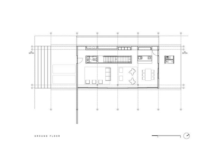 Xan House,Ground Floor Plan