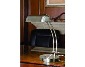 Matt satin chrome Bastia Desk Lamp With Dimmer Switch available at sSpringlights Hillcrest and Durban. For more info go look at our website at www.springlights.net