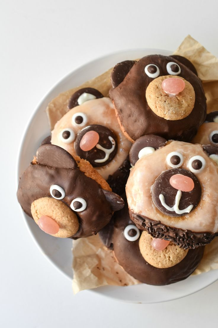 These nut free donut bears are a fun way to serve up breakfast to your family! They also are gluten and dairy free too but full of flavor.