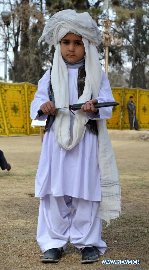 Baloch Culture Day 2014 A Baloch boy we...