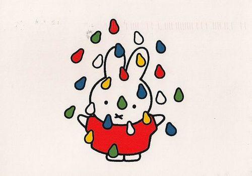 miffy in the rain