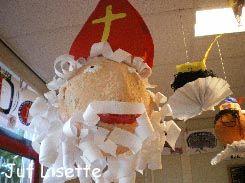 3d knutsel: Sint van papier machee