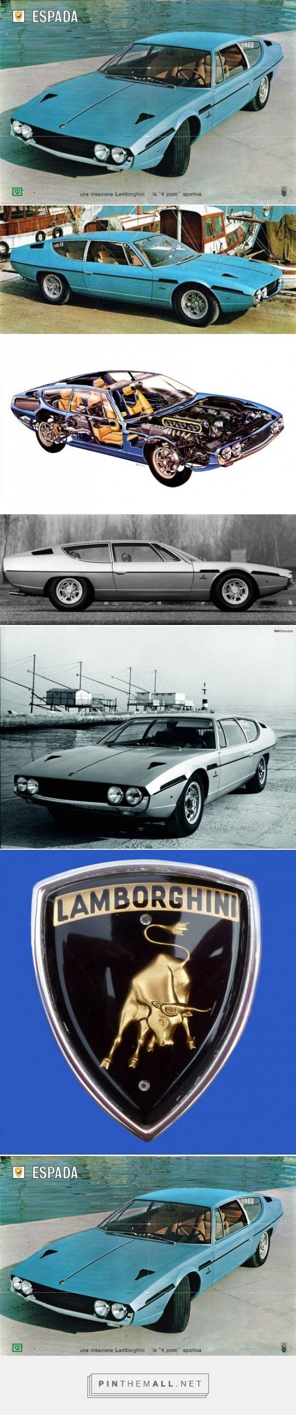 Lamborghini Espada, bodywork by Marcello Gandini of Bertone, V12