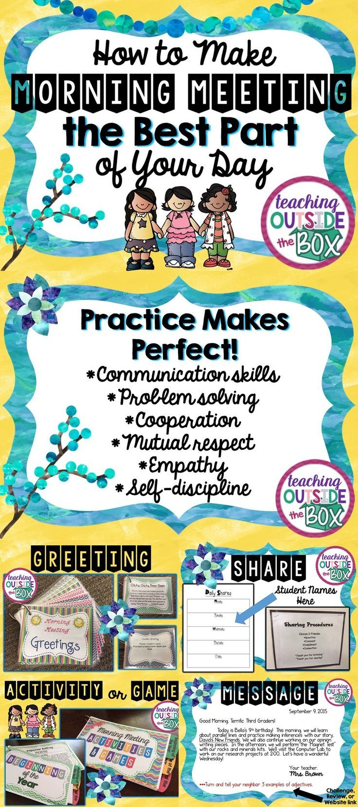 Every child, every day, needs to feel valued and included! Here's how!