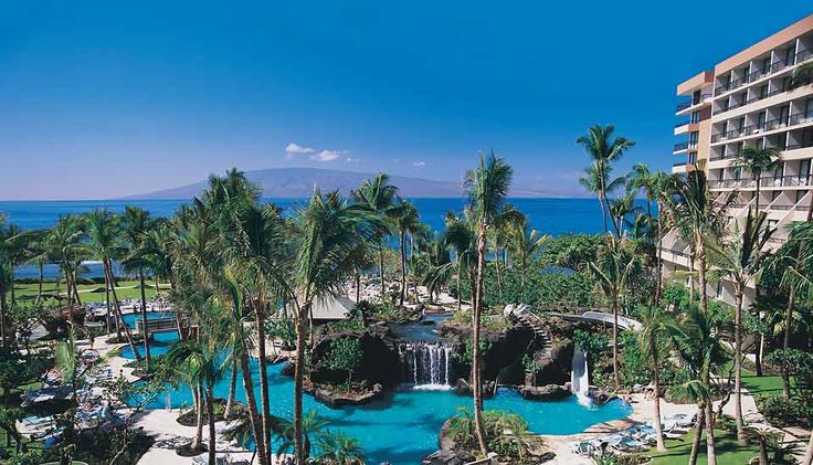 My favorite place in the world....  The Maui Marriot Ocean Club. <3