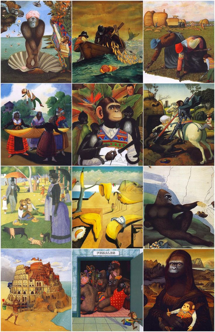 0642 [Anthony Browne] Willy's pictures