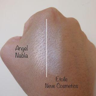 #Swatches Nabla Cosmetics Illuminante e Blush NUOVA COLLEZIONE Blossom Blush + Shade & Glow | È verde? - App sui Cosmetici BIO