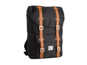 Herschel Supply Co. Little America Mid-Volume (Black) Backpack Bags