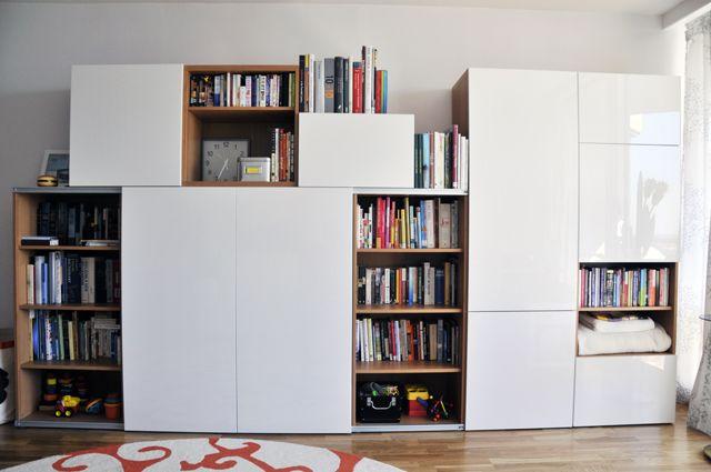 besta tv cabinet with sliding doors