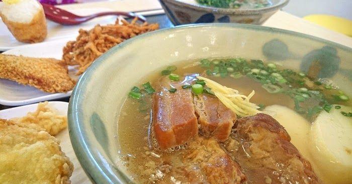 """沖縄県内に5店舗を展開する株式会社上間フードアンドライフさんが北谷町美浜の『ボクネン美術館』のC棟1Fにオープンさせた沖縄そば屋さんです。7種類の""""沖縄そば""""と、他の店舗同様に数種類の『天ぷら』が用意されている他、『じゅーしー』や『いなり寿司』なども用意されています。"""