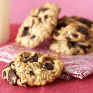 Low-Cholesterol Recipes. Chocolate Chunk Cookies