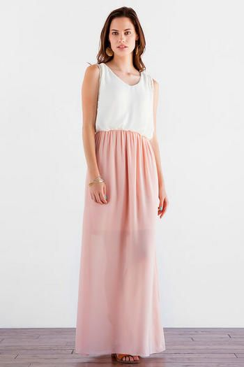Vermilion Embellished Maxi Dress