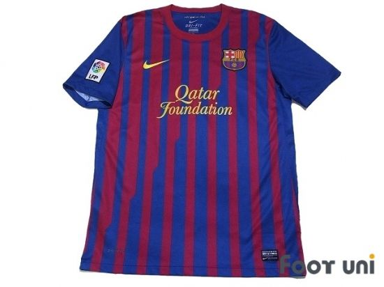 Barcelona 2011-2012 Home Shirt LFP Patch/Badge FIFA Club World Cup Barcelona Home Shirt NIKE - Football Shirts,Soccer Jerseys,Vintage Classic Retro - Online Store From Footuni Japan