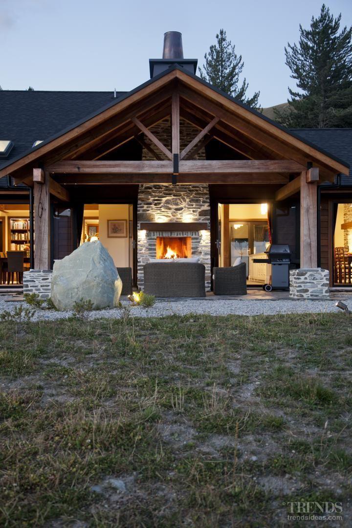Mountain Hideaway outdoor room