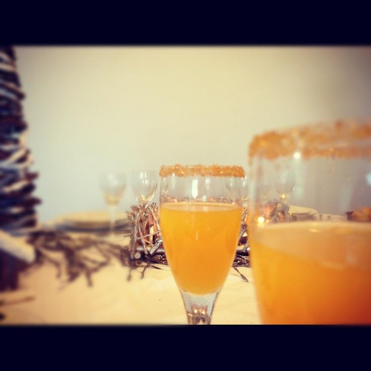 Cocktail al Mandarino on http://www.thetasteforfood.com