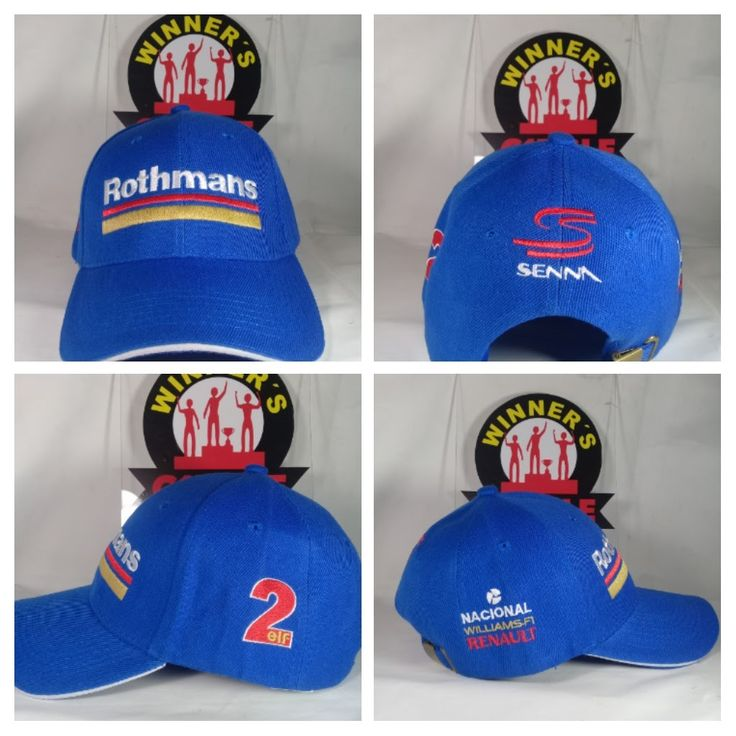 Ayrton Senna Last Ride The Williams FW16! We want to conmemórate him with this Hat!! Get It!! COP$ 40000