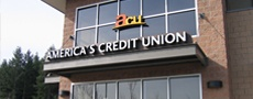 America's Credit Union Time sensitive, branch-wide signage changeovers - Pacific Northwest