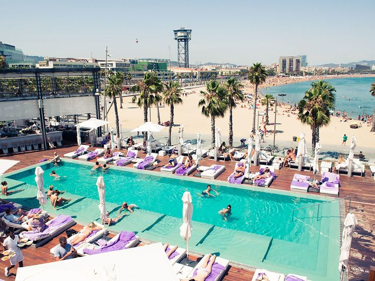 We'll be straight up: nothing quite compares to the beachfront view of the W Barcelona. Located right along the La Barceloneta boardwalk, you can step right outside the hotel, lounge on the famous Barcelona beach, and then explore the restaurants and clubs that are just steps away.
