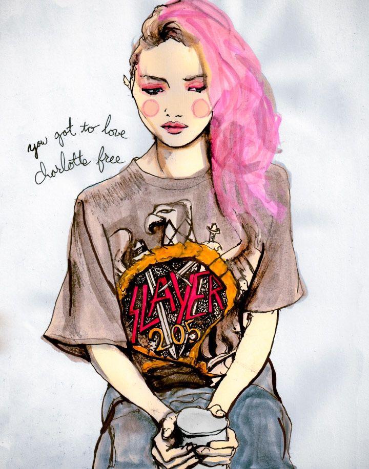 Danny Roberts es un ilustrador y diseñador gráfico quien logró colocarse en el mundo de la moda como uno de los principales ilustradores contemporáneos.