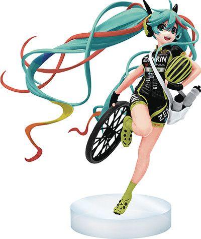 Crunchyroll - Hatsune Miku 2016 Racing Version Vinyl Figure - Vocaloid