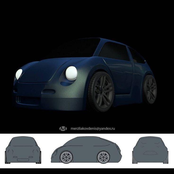 4 отметок «Нравится», 1 комментариев — мерзляков (@denismerzliakov) в Instagram: «4 серия машинок. #3dprint #3d #model #stylization #car #machines #automobile #graphicdesign…»