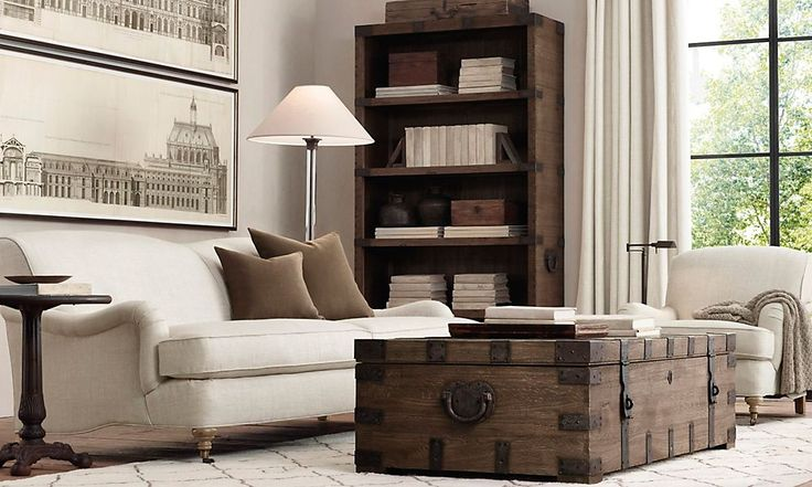 Rooms Restoration Hardware I Know There Is A Way I Can Make This Trunk For Less Than They