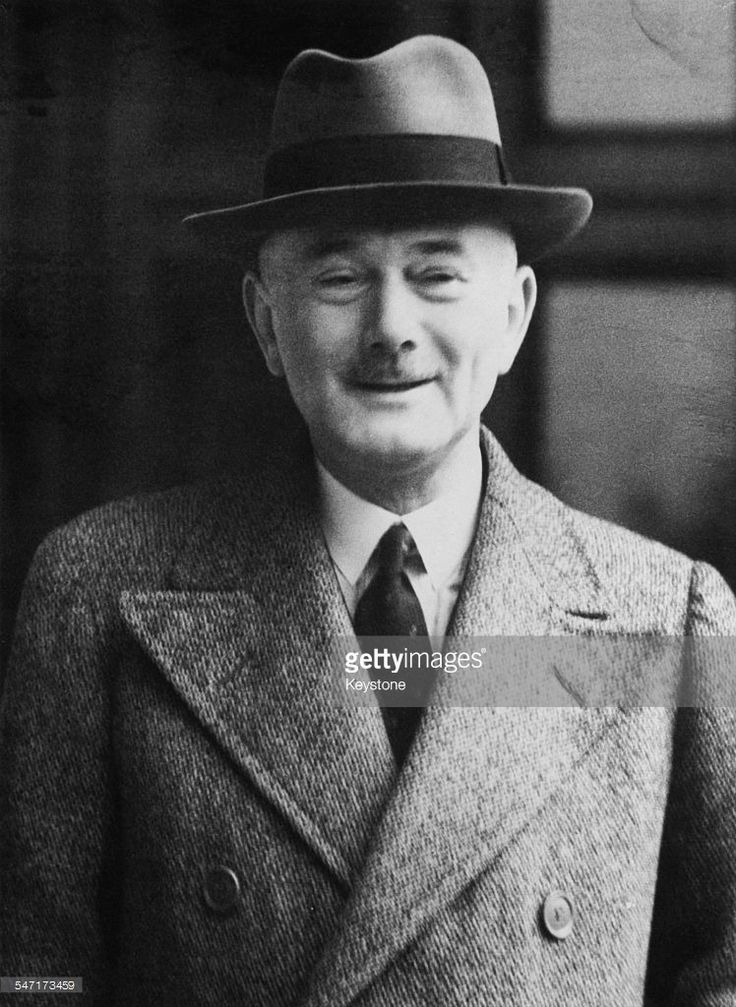 British diplomat Sir Hughe Knatchbull-Hugessen arriving at the Foreign Office in London during his term as Ambassador to Turkey, 8th April 1940. He is due to attend a conference on the Balkans with British envoys and Foreign Secretary, Lord Halifax.
