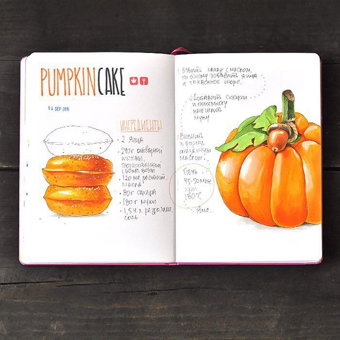 Pumpkin cake recipe by anna.rastorgueva