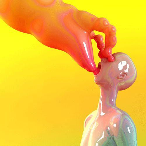 The strange animated GIFs of KyttenJanae