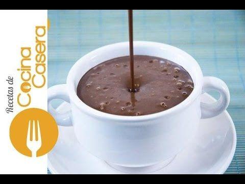 Chocolate casero para Churros y Porras | Recetas de Cocina Casera - Recetas fáciles y sencillas