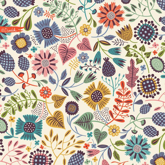 a fun abstract pattern…