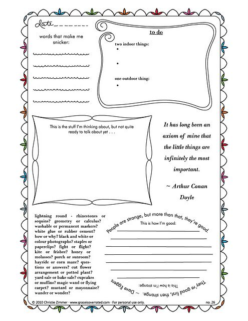 double sided journal entry template - journaling pages homeschool pinterest journal pages