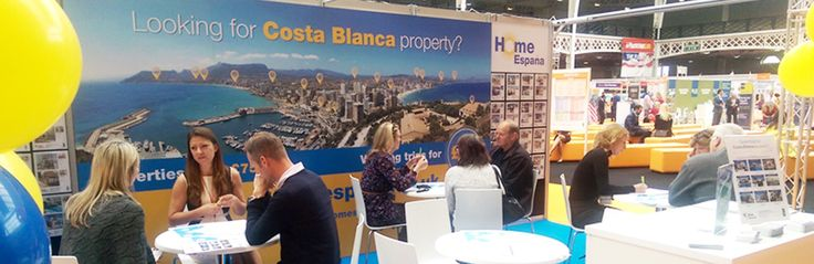 HomeEspaña is back at the A Place in the Sun Live Exhibition from the 25th to the 27th of September in Birmingham.  Visit our booth, B32, to meet us one to one!  Also HomeEspañas Director, Clare Coombs, will be on a exclusive panel for the session 'What, where and how to buy in Spain'  HomeEspaña are offering FREE tickets to this event, click the link below for more information!  http://www.homeespana.co.uk/a-place-in-the-sun-live-exhibition/