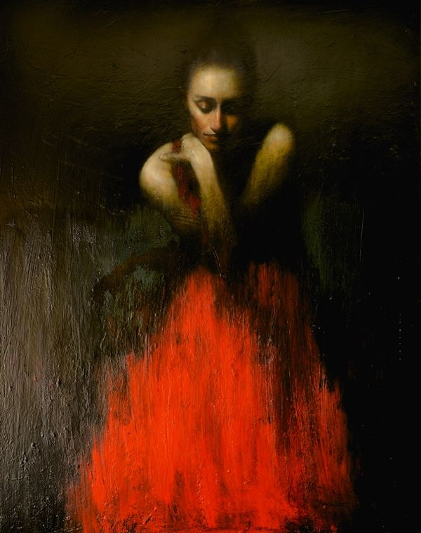 Contemporary figurative art by Mark Demsteader - ego-alterego.com