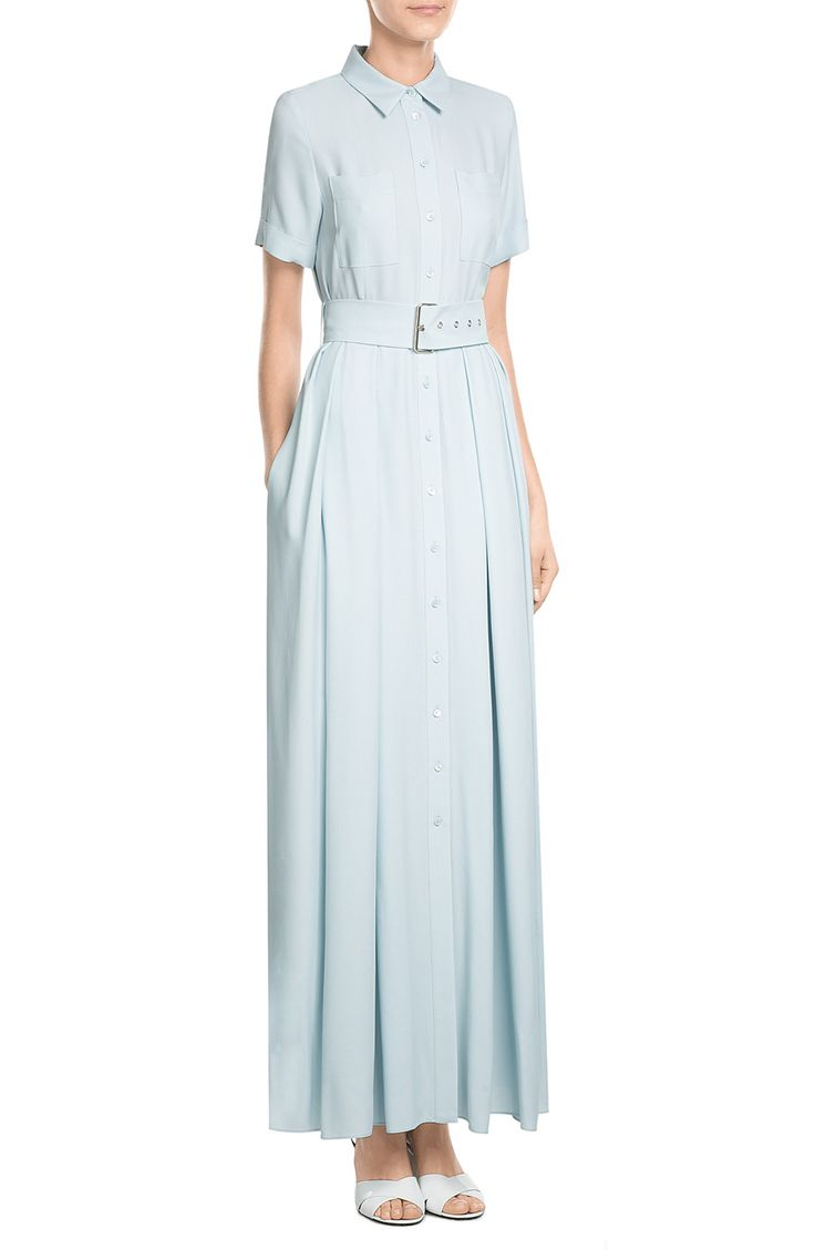 Belted Maxi Dress look detail