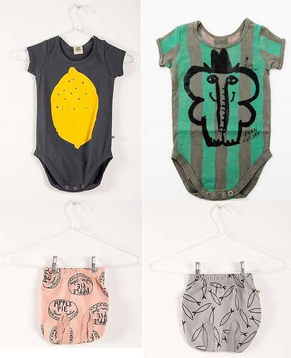 Bobo Choses   for striking prints on stylish baby clothes