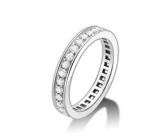 フルパヴェダイヤモンド。結婚指輪は憧れの老舗店ブランドがいい♡ブルガリのマリッジリングの参考♡