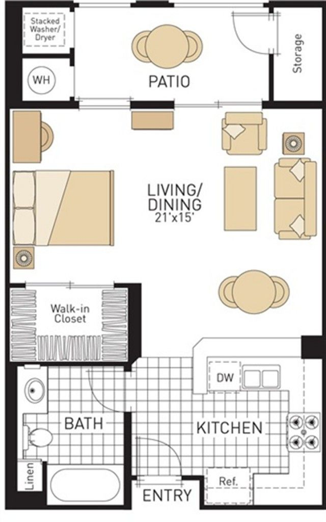 cool studio apartment layouts. cool studio apartment plan and layout design with storage  93 best images on Pinterest Architecture Small houses