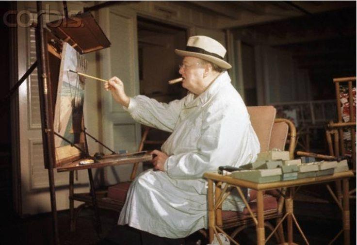 Уинстон Черчилль - художник. Обсуждение на LiveInternet - Российский Сервис Онлайн-Дневников