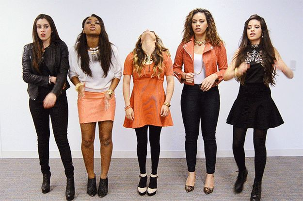 You just realized you forgot to lock your front door: | All The Fifth Harmony Reaction GIFS You'll Ever Need