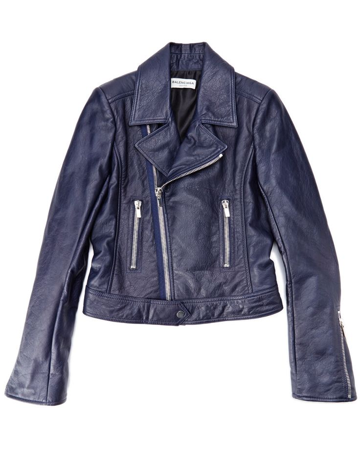 "Balenciaga ""New Biker"" Leather Jacket  is on Rue. Shop it now."
