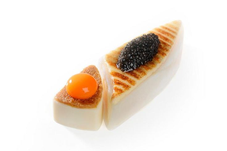 Turbot 2013 Lyon. Caviar from secret place :)