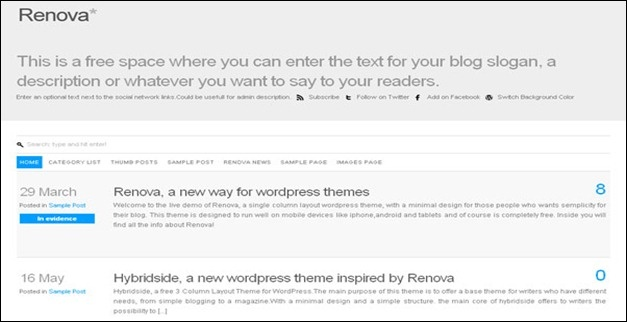 #responsive #wordpress #theme renova