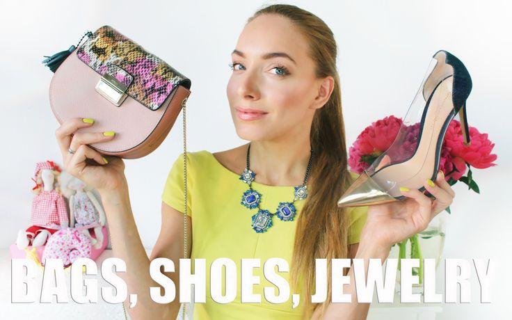 ОБНОВКИ ♥ сумки, обувь и бижутерия // Furla, Tory Burch, Gianvito Rossi,...