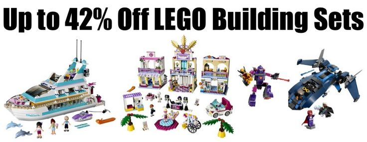Up to 42% Off LEGO Building Sets **Today Only** - http://www.swaggrabber.com/?p=295167