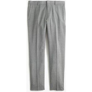 J.Crew Crosby Traveler Suit Pant In Italian Wool
