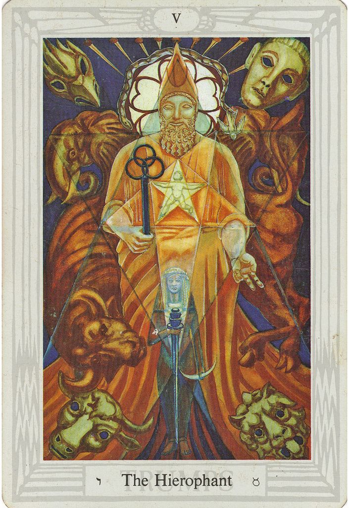 43 Best Images About Tarot-The Hierophant On Pinterest