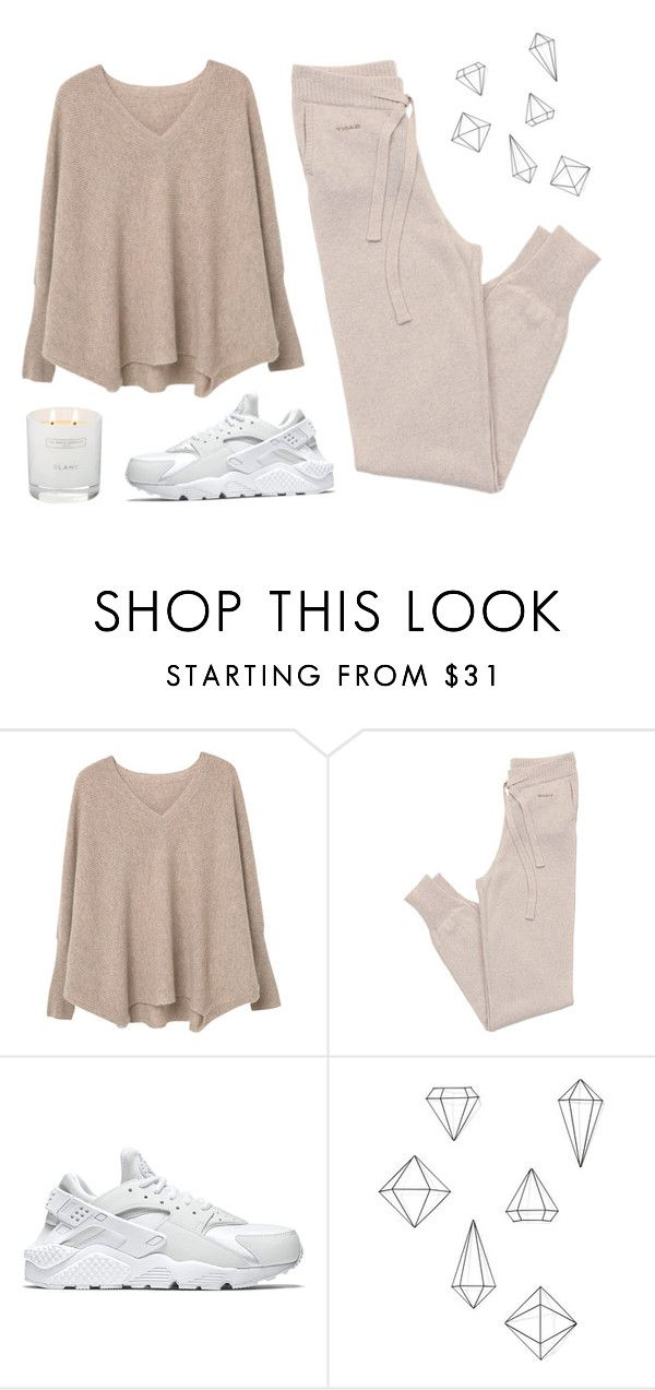 """""""Untitled #2006"""" by katerina-rampota ❤ liked on Polyvore featuring MANGO, GANT, NIKE, Umbra and The White Company"""